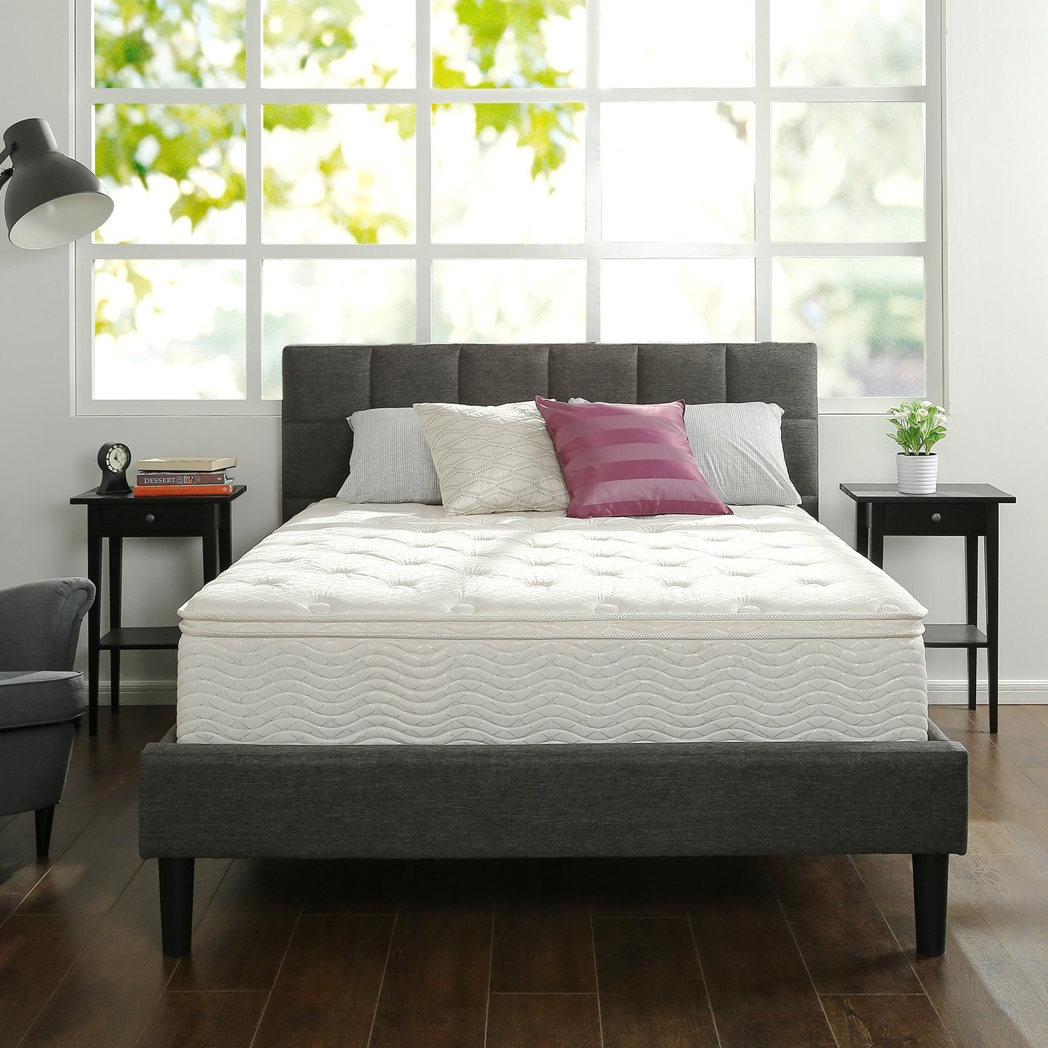 Zinus Hybrid Green Tea Foam and Spring Mattress