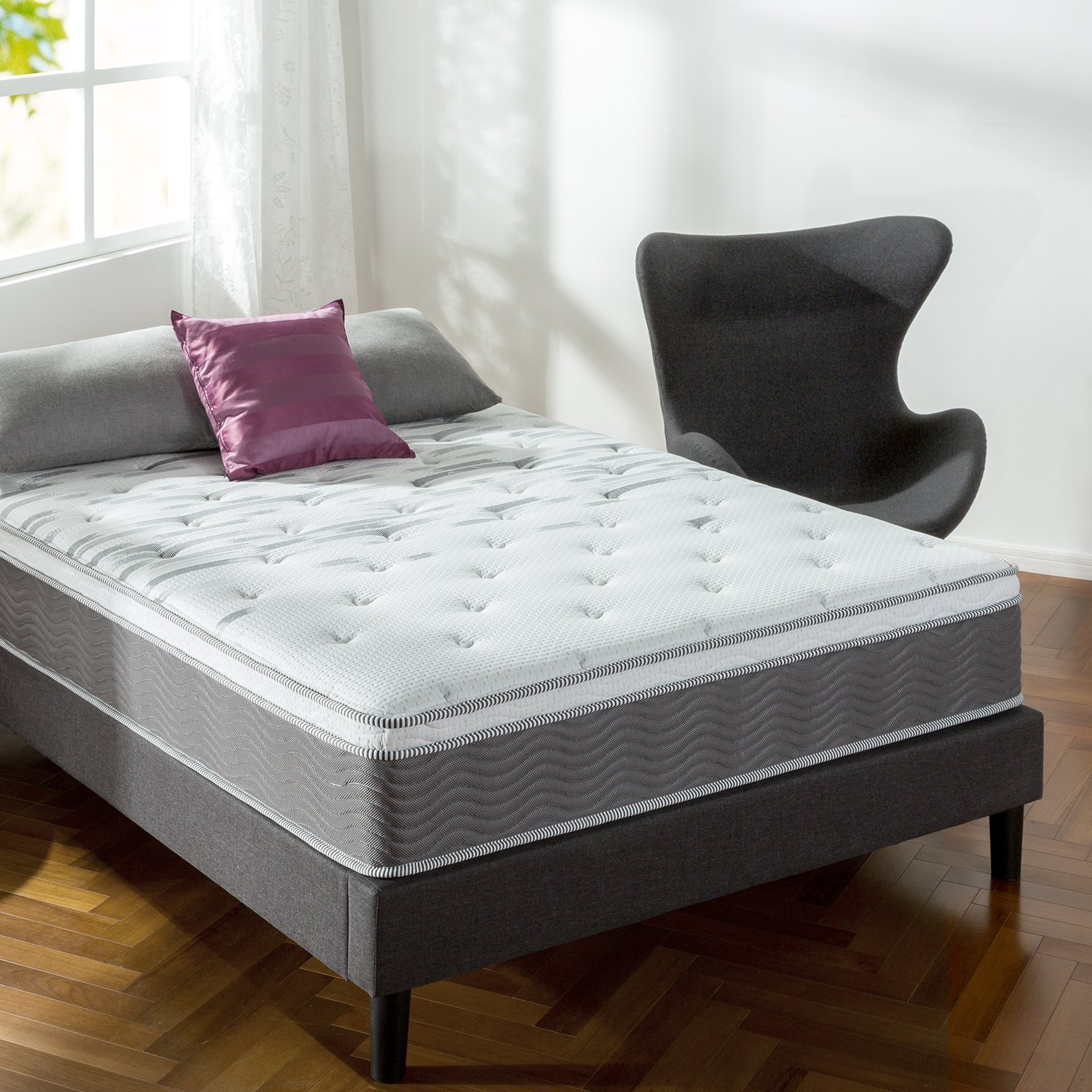Zinus 12 Inch Performance Plus / Extra Firm Spring Mattress
