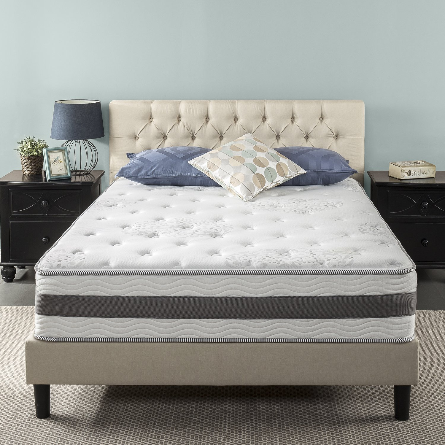 Zinus 12 inch Gel Infused Memory Foam Hybrid Mattress